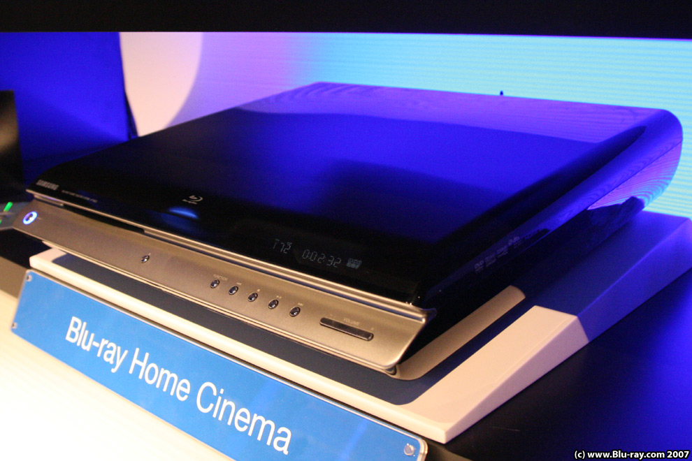 ifa 2007 samsung blu ray players and home cinema. Black Bedroom Furniture Sets. Home Design Ideas